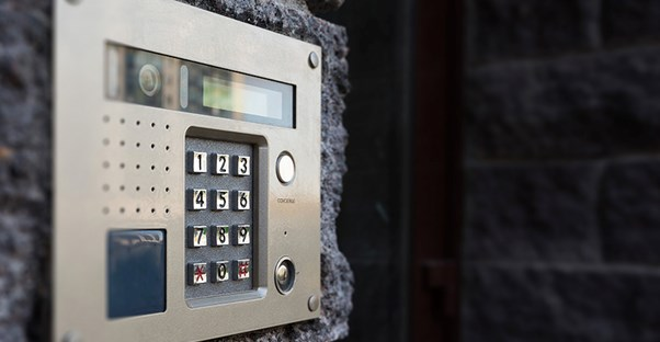 business security system keypad