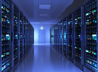 A room full of servers
