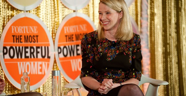 Marissa Mayer is the CEO of Yahoo