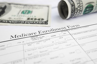 Money on a medicare enrollment form