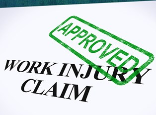 Worker's comp claim with a green stamp of approval