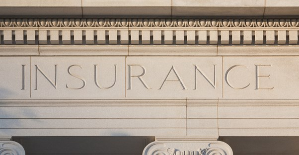 Building That Says Insurance