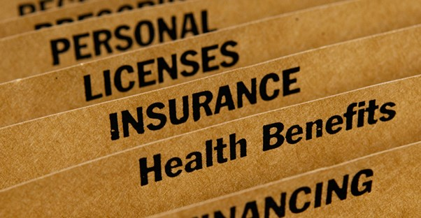 Files reading personal licenses insurance health benefits and financing