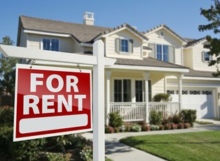 Rental house protected by rental insurance