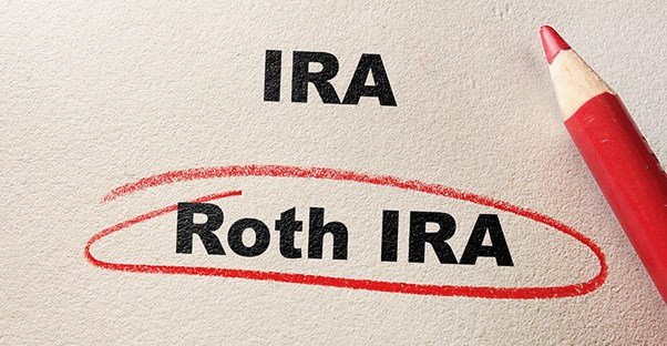 IRA vs Roth IRA circled in red pencil