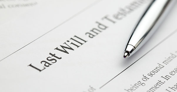 Writing a will is the first step to estate planning