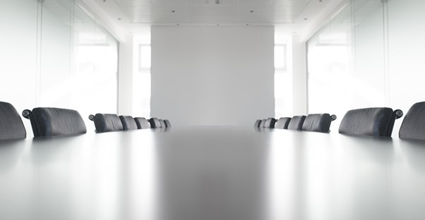 empty boardroom at an employment law firm