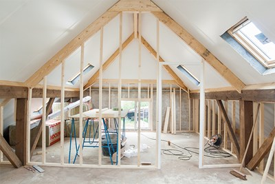 Finishing your attic adds value to your home