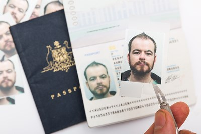 passport fake