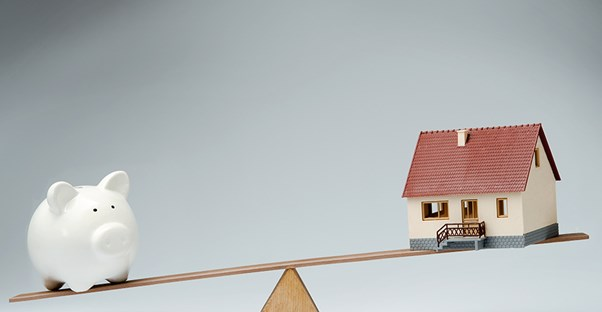 Balancing a piggy bank and home. Fixed rate mortgage.