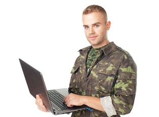 a soldier applying for a VA loan