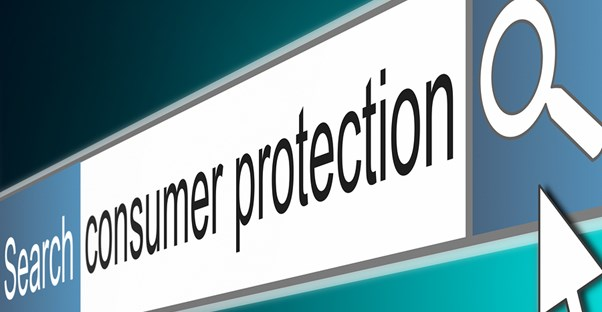 Search bar for consumer protection