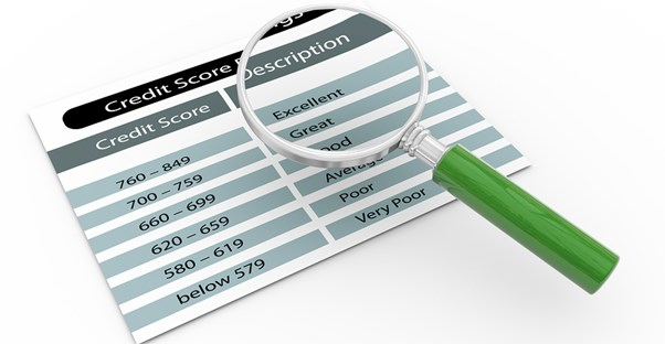 Magnifying glass clears up credit score confusion