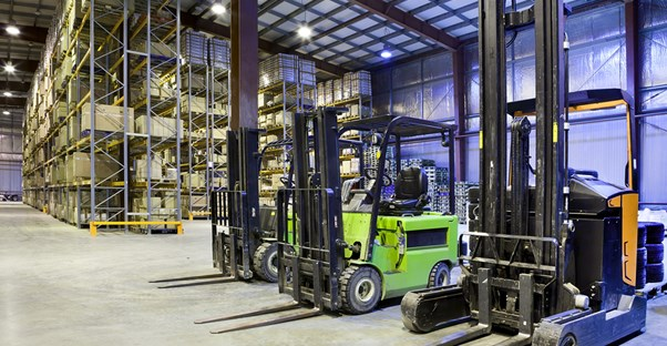 A warehouse full inventory and machinery that needs to be entered into an inventory management program.