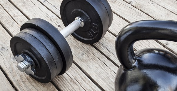 Home gym equipment for strength training