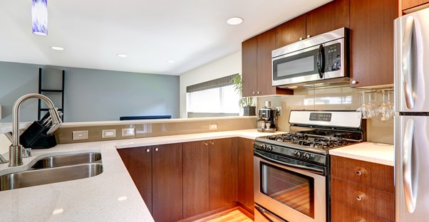 Small kitchen remodel how to get the best bang for your buck for Kitchen remodel financing