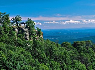 White Rock Mountain in Arkansas