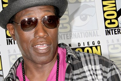 Wesley snipes at ComicCon