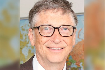 Bill gates is a famous philanthropist